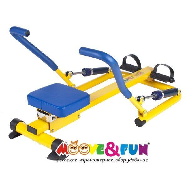 Детский гребной тренажер с двумя рукоятками(3)